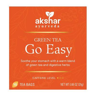 go easy green tea
